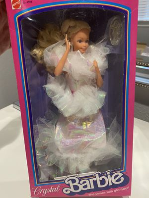 Crystal Barbie- opened box, mint condition for Sale in The Woodlands, TX