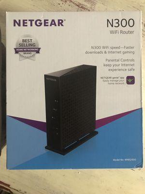 Netgear N300 WiFi router for Sale in Portland, OR