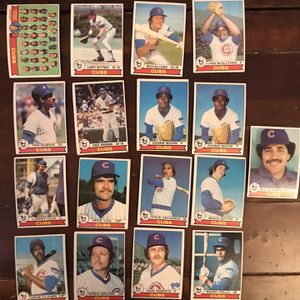 Topps Cubs 1979 Baseball Cards for Sale in St. Charles, IL