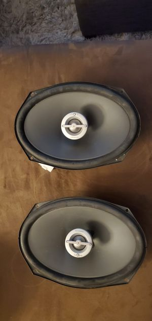 Infinity 6x9 speakers w/ bass boost for Sale in DuPont, WA