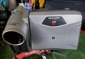 OLD SCHOOL SHARP VIDEO CAMERA for Sale in Oakland, CA