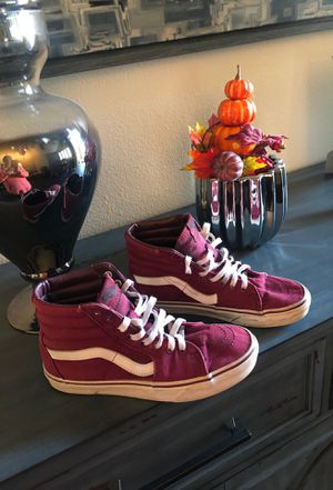 VANS HIGH TOP ... Burgundy for Sale in Chula Vista, CA