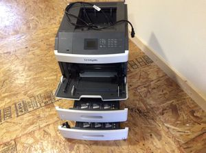 Lexmark MS810DTN Heavy Duty network printer + printer, keyboard for Sale in Hoquiam, WA
