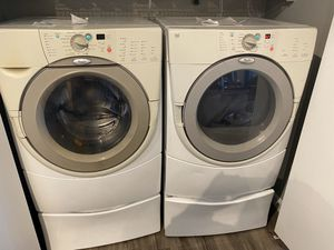 Whirlpool Electric ⚡️ Washer & Dryer for Sale in Keller, TX