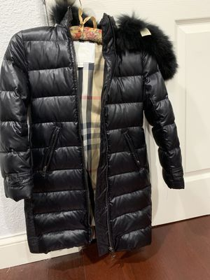 Burberry girls jacket new without tags for Sale in South San Francisco, CA