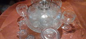 Cake Stand and Punch Bowl Set for Sale in Ellenwood, GA