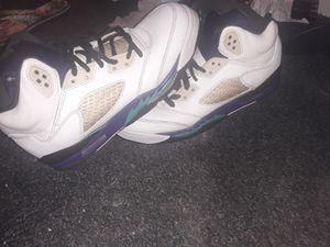Retro Jordan Grape 5s for Sale in Altus, OK