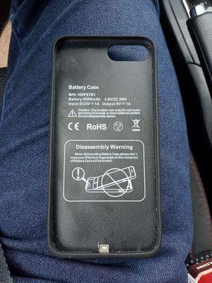 Iphone 6 plus battery case for Sale in Redmond, WA