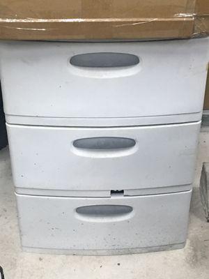Plastic drawer for Sale in Pembroke Park, FL