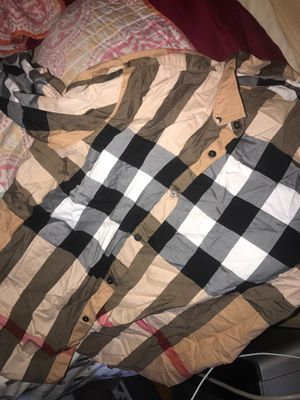 AUTHENTIC LONG SLEEVE BURBERRY SHIRT for Sale in New York, NY