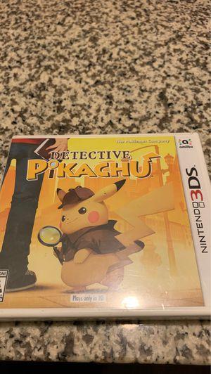NINTENDO 3DS. DETECTIVE PIKACHU for Sale in Washington, DC
