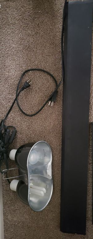 Zoo Med Dome Lamp and Hood Lamp (reptile) for Sale in San Diego, CA