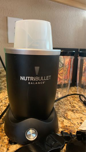 NutriBullet balance blue tooth for Sale in Chesapeake, VA