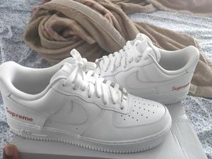 Nike Air Force lows SUPREME Customs size 11.5 for Sale in Jamaica, NY