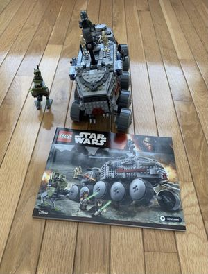 LEGO set: clone turbo tank few pieces missing for Sale in Frederick, MD