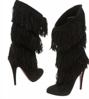 Brand new authentic Christian Louboutin fringe boots for Sale in Los Angeles, CA