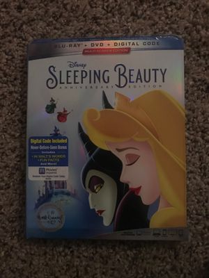 Disney's Sleeping beauty BLU RAY DVD DIGITAL CODE NEW UNOPENED for Sale in Moreno Valley, CA