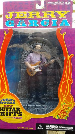 Grateful Dead Jerry Garcia McFarlane Toys Fender Guitar Riffs Action Figure 2001 for Sale in Cape Coral, FL