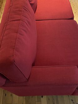 Couches 600 Red And 150 Grey Pick Up Only. Cash Only. No Delivery . for Sale in Austin,  TX