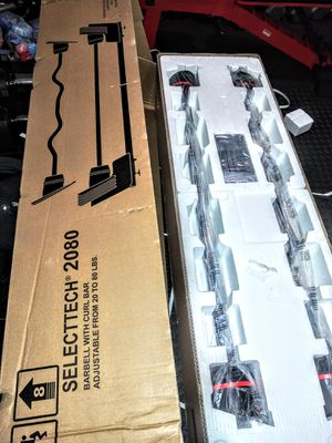 Bowflex Select Tech 2080 Barbell and Curl bar for Sale in Centreville, VA