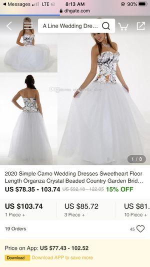 Wedding dress for Sale in Lake Helen, FL