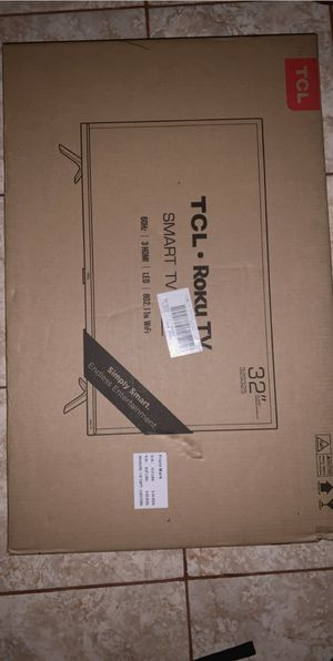 "32"" TCL roku tv for Sale in El Campo, TX"
