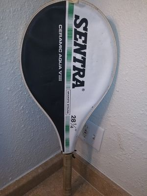 Vintage Sentra ceramic agua tennis racket for Sale in Oklahoma City, OK
