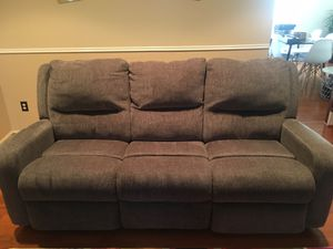 Power reclining sofa for Sale in Fairfax, VA
