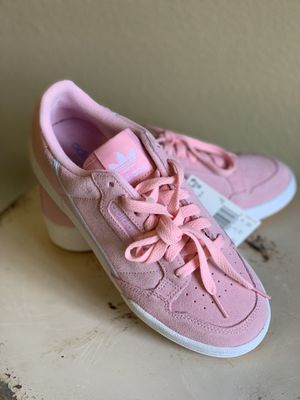 Adidas Continental 80 W Pink White Suede for Sale in College Station, TX