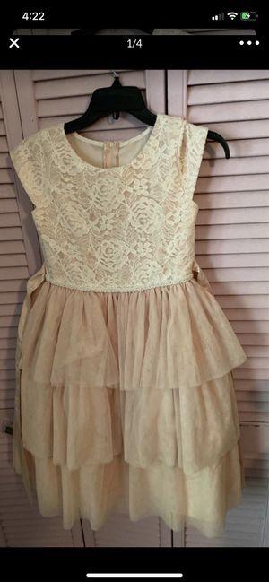 Flower girl dress size 12 &14 for Sale in Dearborn Heights, MI