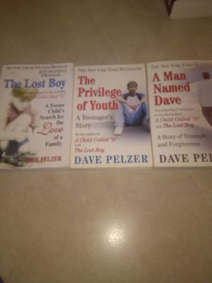 Dave pelzer books for Sale in West Palm Beach, FL
