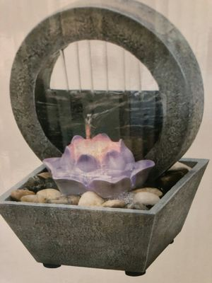 Lotus flower table fountain for Sale in El Monte, CA