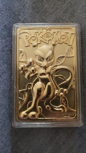 1999 Gold Mewtwo Pokemon for Sale in Yakima, WA