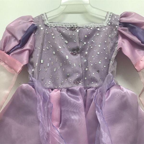 Disney Princess Rapunzel dress girls costume dress up new sz 2