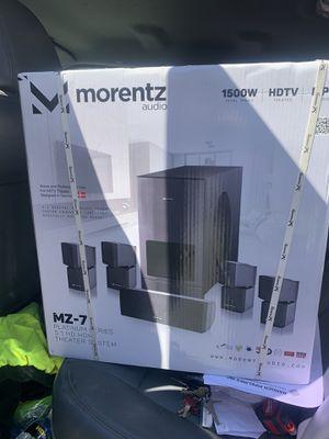 Morentez Audio MZ 7 Surround Sound Speakers for Sale in San Francisco, CA