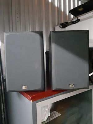 Monitor Audio book shelf speakers, for Sale in West Hollywood, CA