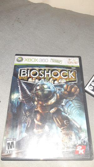 Bio shock xbox 360 for Sale in Omaha, NE