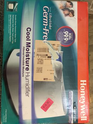 Humidifier Cool Moisture Honeywell New for Sale in San Diego, CA