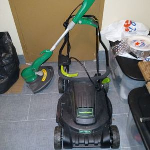 Electric Lawn master 2in1 Mower, Weed eater, and Table Saw for Sale in Newburgh Heights, OH