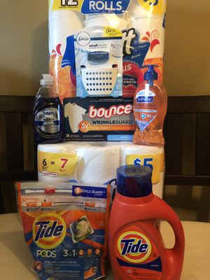 Tide Original 50oz detergent 16ct Flings for Sale in Buffalo, NY