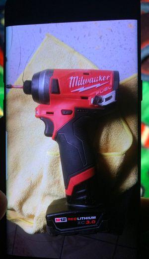 Milwaukee brush less impact drill for Sale in Santa Ana, CA