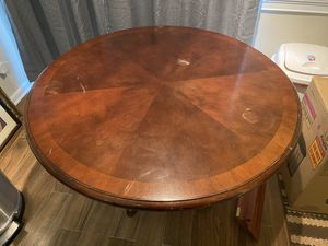 Dining table 4 feet diameter for Sale in Oakton, VA