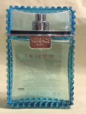 Price Reduced Versace eau fraiche men's fragrance no lid for Sale in Taylorsville, UT