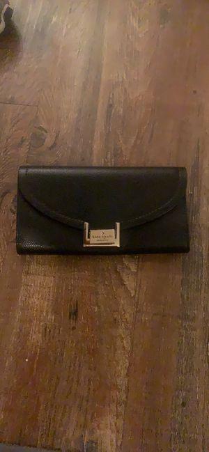 Black Kate spade wallet for Sale in Meridian, MS