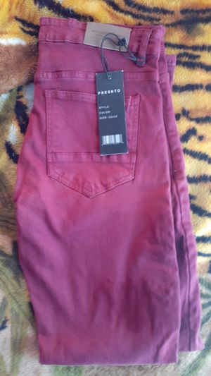 PRESHTO Burgundy Pants 32×32 for Sale in Los Angeles, CA
