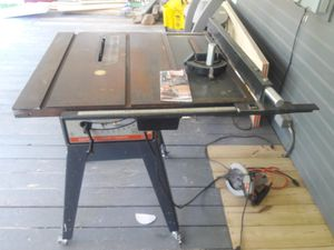 Table saw 150 for Sale in Oklahoma City, OK