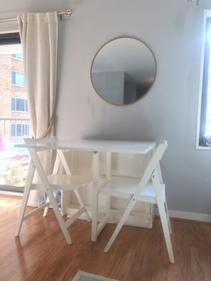 6 person folding dining set for Sale in Washington, DC