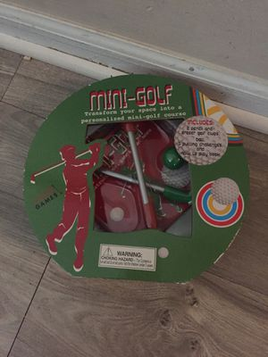 Mini golf,extreme game for kids 5 and up for Sale in Hilliard, OH