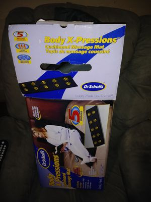 Dr Scholl's Body X- Pressions cushioned massage mat for Sale in Joplin, MO