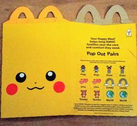 Mc Donalds Pikachu Kids Meal Box for Sale in Houston,  TX
